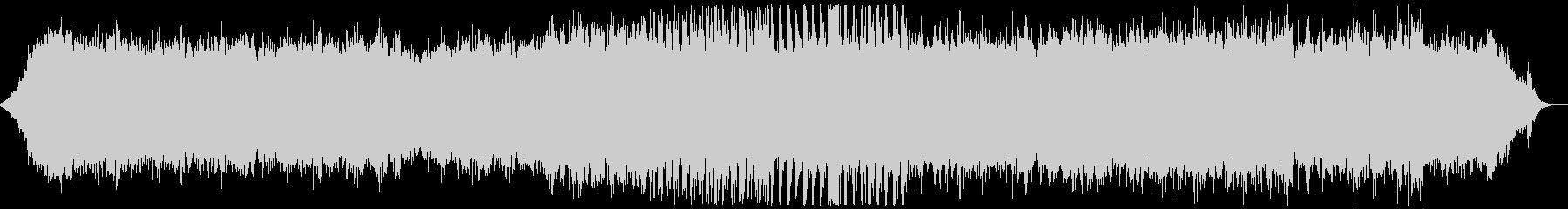 キラキラした音の入ったヒーリング音楽の未再生の波形