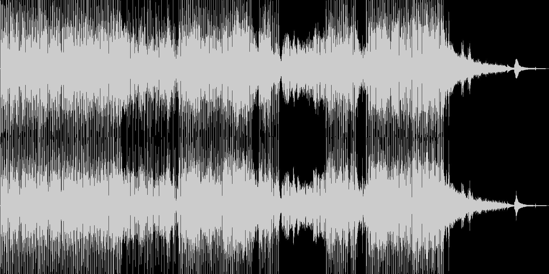 バイオリン・涼しい雰囲気 打楽器・Sの未再生の波形