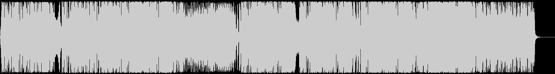 都会的グルーヴEDMハウス CM・映像の未再生の波形