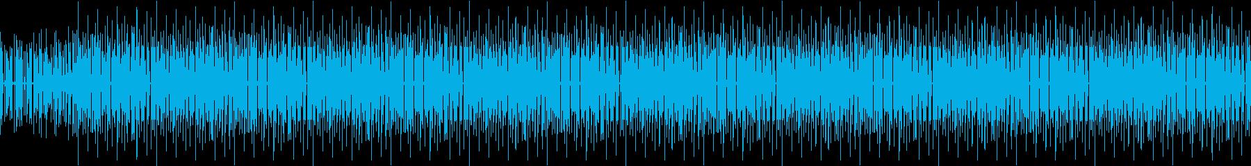 【BGM】ジャズ・カフェ・お洒落・レトロの再生済みの波形