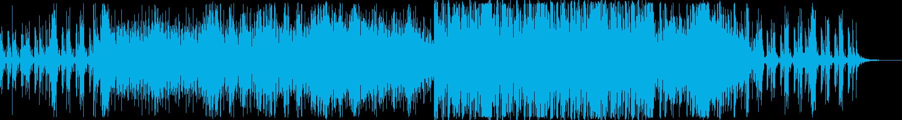 透明感のある幻想的なエレクトロニカの再生済みの波形