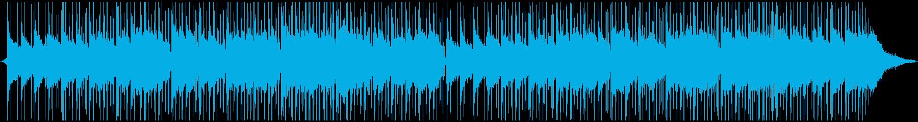 Lo-Fiなリラックスできるチルビートの再生済みの波形