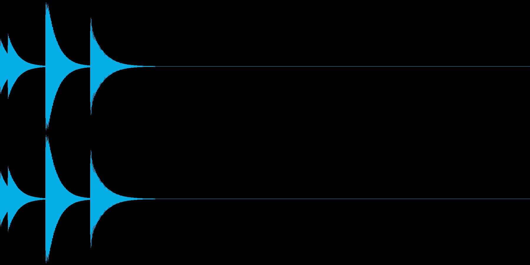 ポップアップ/システム音/ポコ/7の再生済みの波形