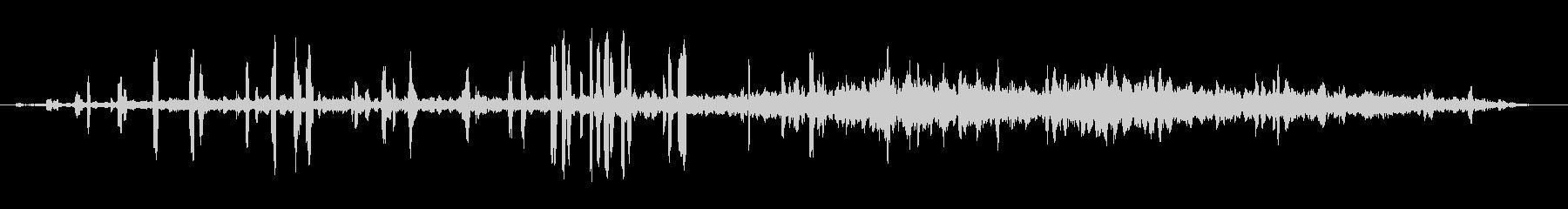 クレーンクレーンの未再生の波形