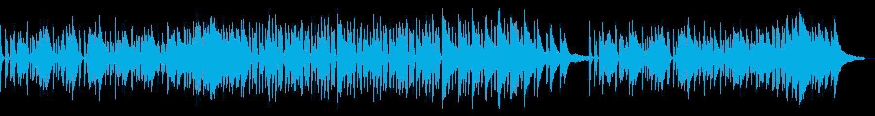 「通りゃんせ」ピアノアレンジの再生済みの波形