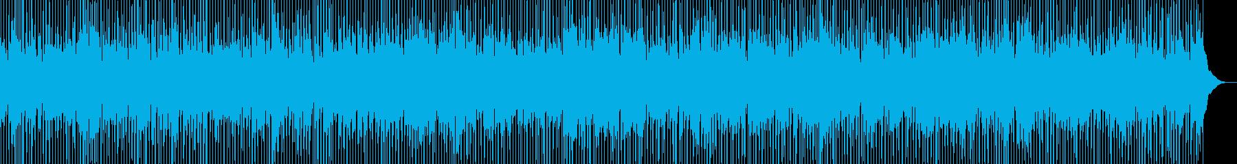 ピアノが切ないカントリーの再生済みの波形