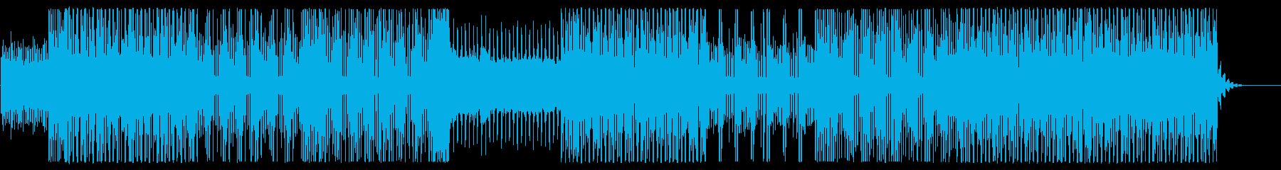 都会的なエレクトロPOPSゆるく踊れる曲の再生済みの波形