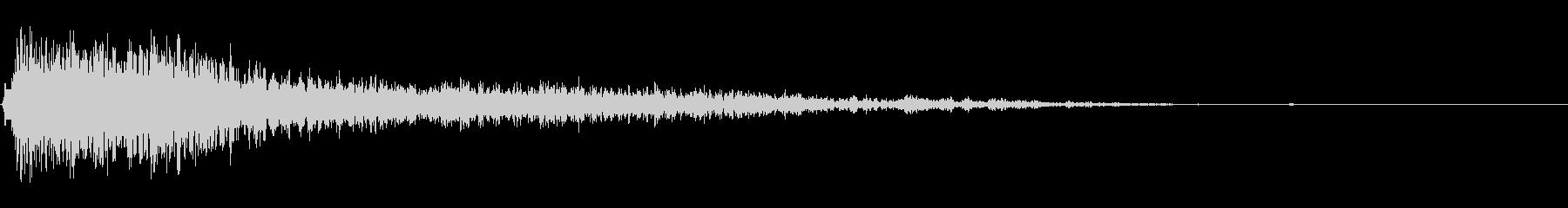 爆発;メタルデブリ07の未再生の波形