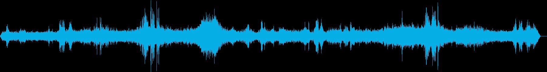 メトロバゴンインテリアの再生済みの波形