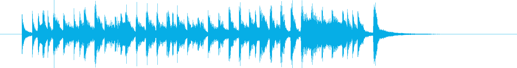 ムーディで軽快なトランペットジングルの再生済みの波形