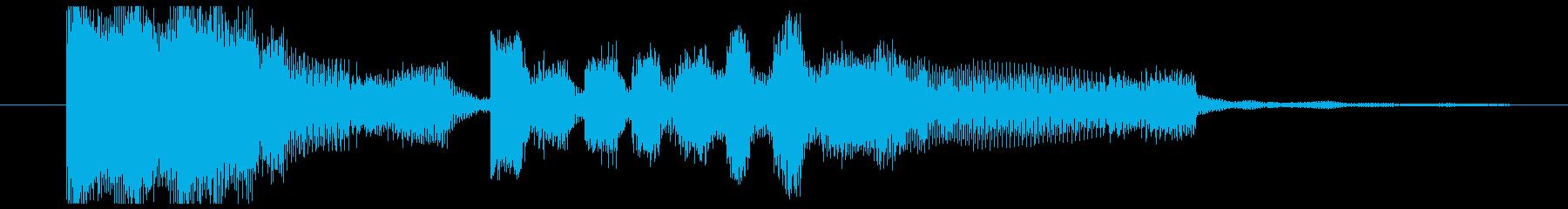 忙しくエネルギッシュなドラムンベー...の再生済みの波形