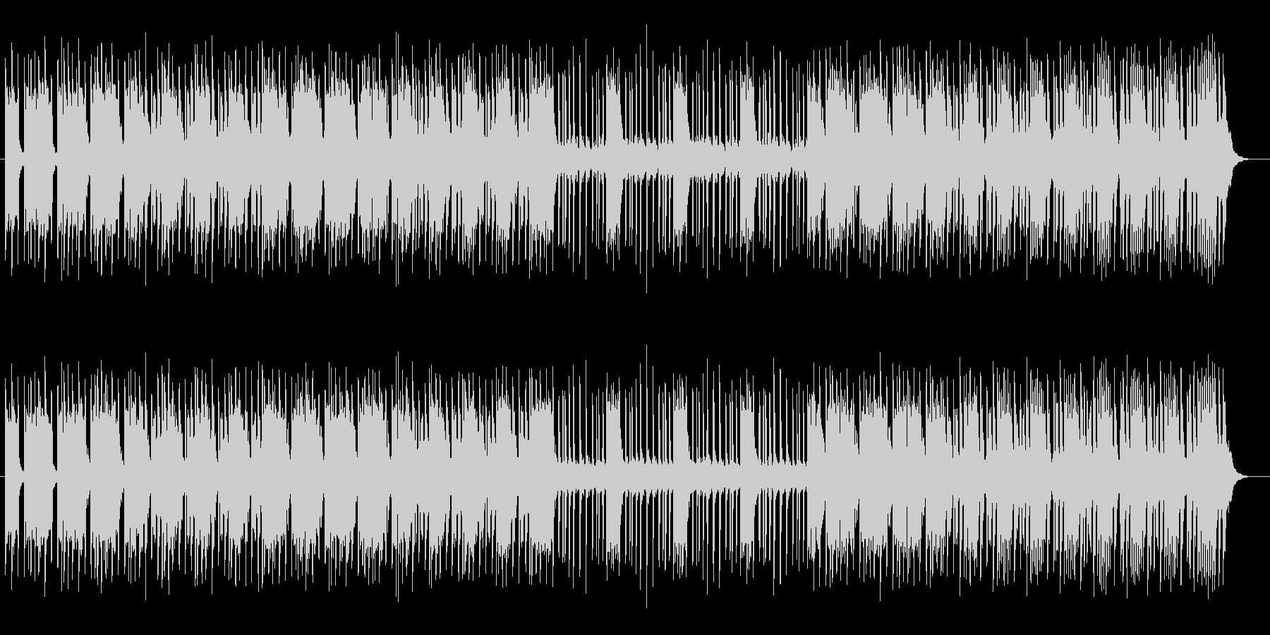 ほの明るいミステリーミュージックの未再生の波形
