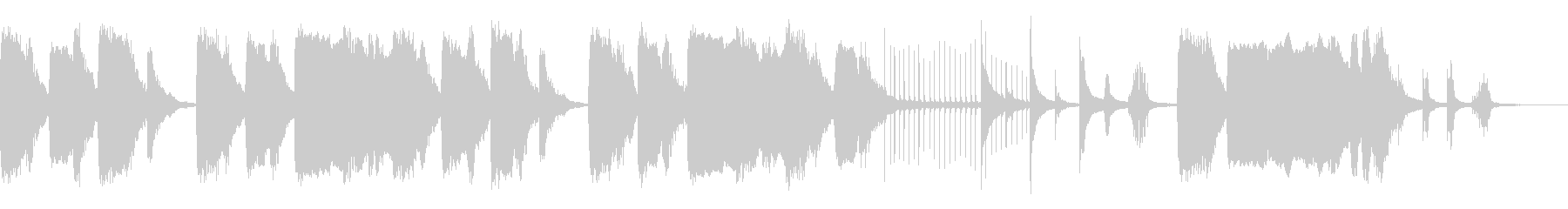 シーン・コミカル・ループ・オーケストラの未再生の波形
