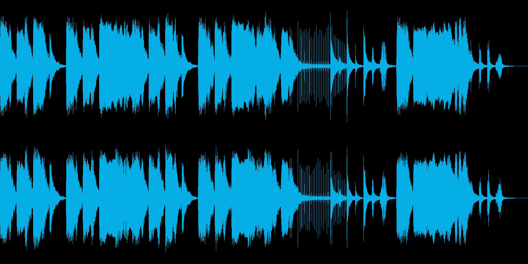 シーン・コミカル・ループ・オーケストラの再生済みの波形