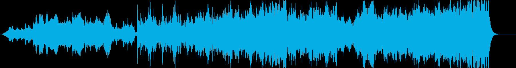 中世風の壮大なオーケストラ-短縮版の再生済みの波形