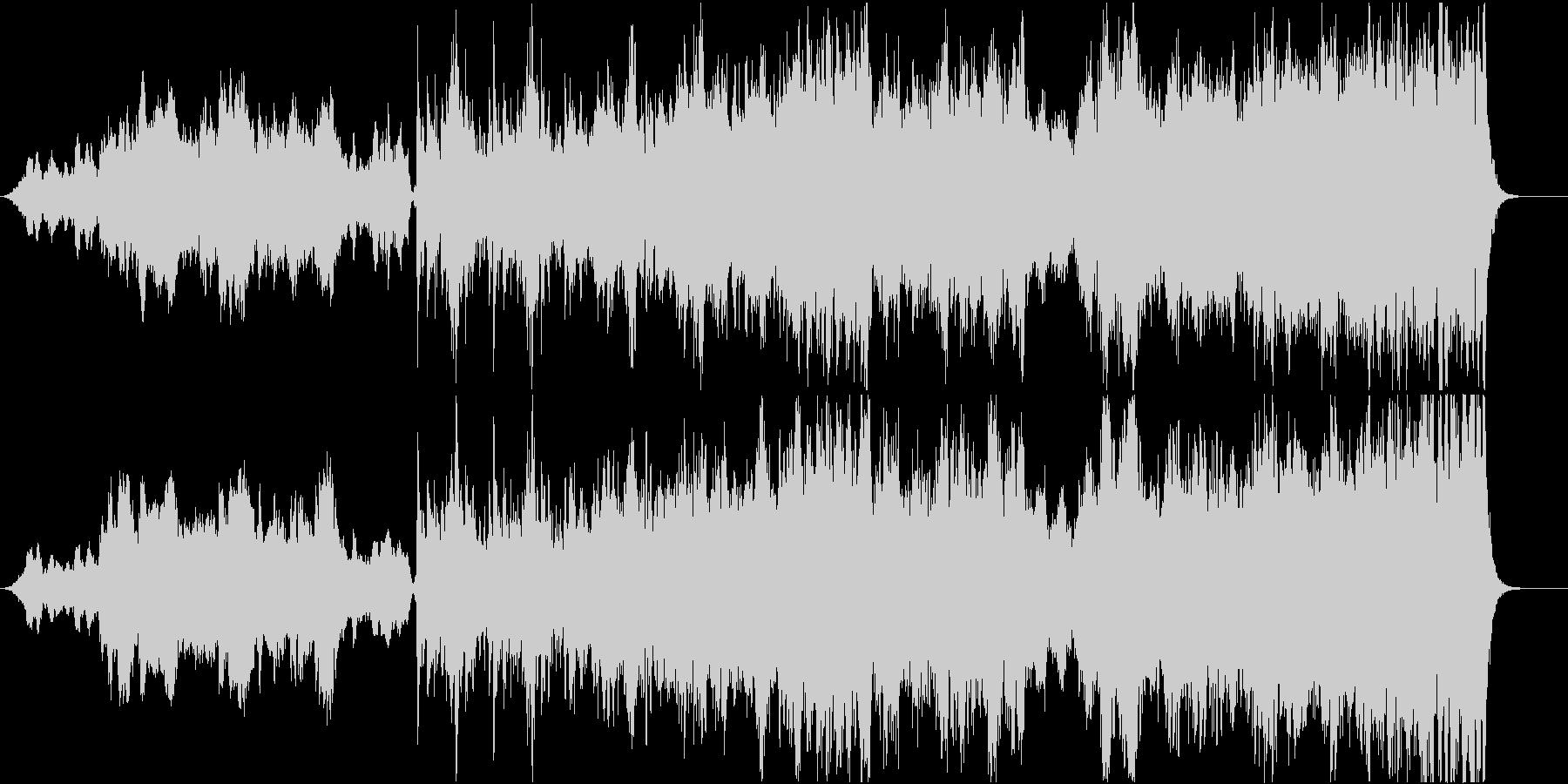 中世風の壮大なオーケストラ-短縮版の未再生の波形