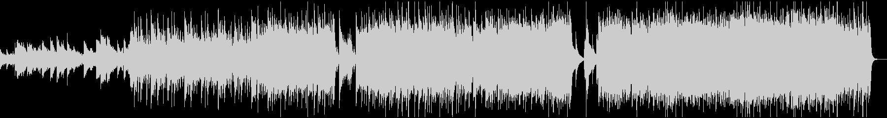 ストリングス+ロックのダークな情景曲の未再生の波形