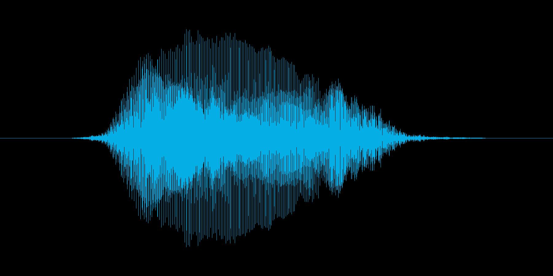 イェイの再生済みの波形