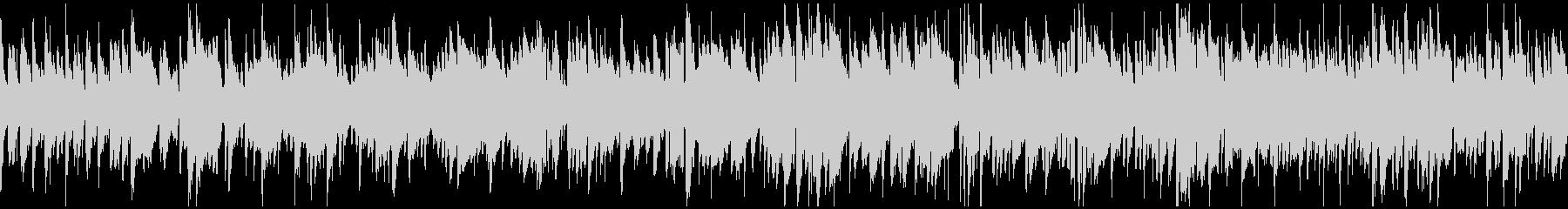 秋のボサノバ・ジャズ、お洒落 ※ループ版の未再生の波形