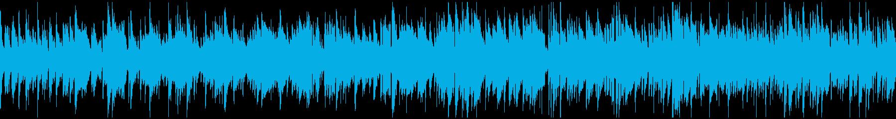 秋のボサノバ・ジャズ、お洒落 ※ループ版の再生済みの波形