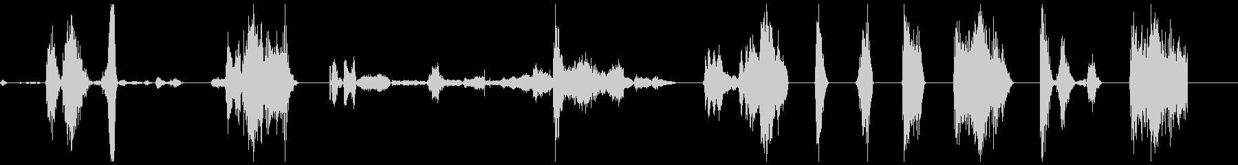 KYMAゾンビ1-10の未再生の波形