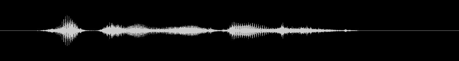 【時報・時間】8時ですの未再生の波形