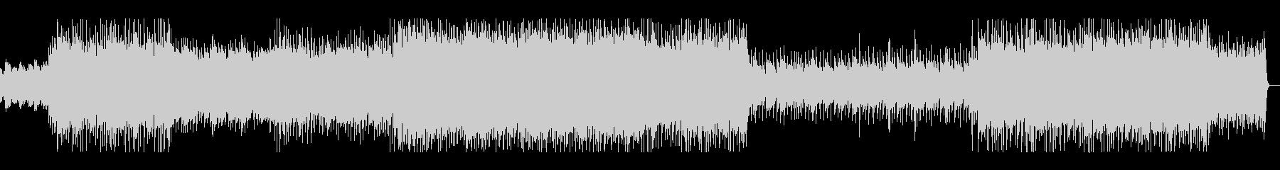 ギターのアルペジオが印象的なロックの未再生の波形