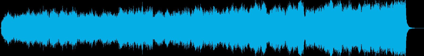 ちょっと速いせせらぎの幻想曲の再生済みの波形