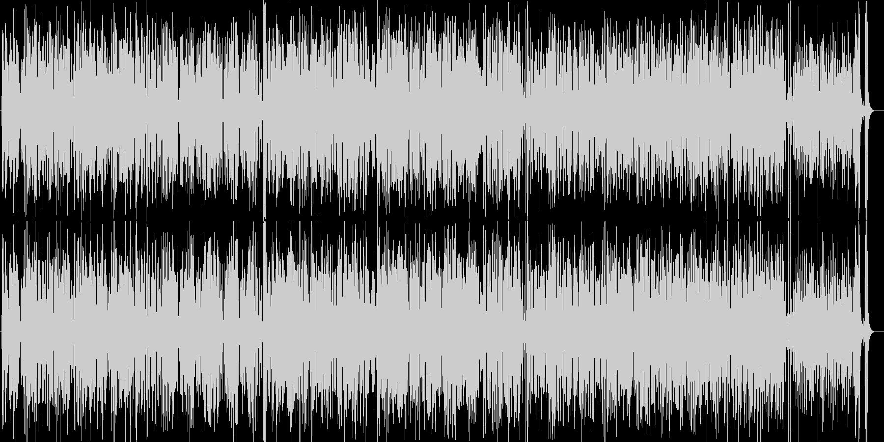 カラッとしたギターがさわやかなボサノヴァの未再生の波形