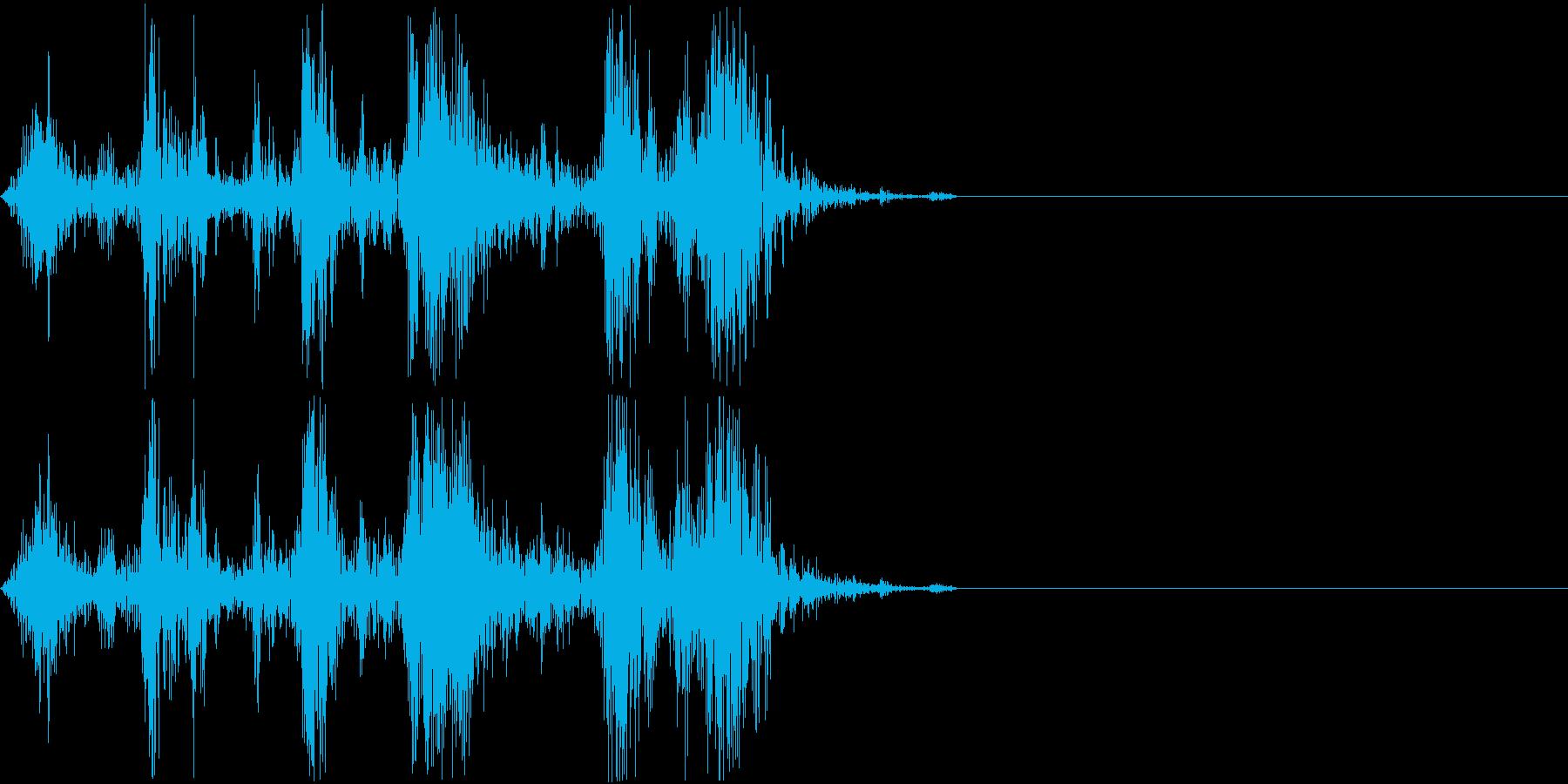Camera シャッター ドライ音 2の再生済みの波形