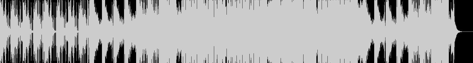 低音が響いてるダークダブステップの未再生の波形