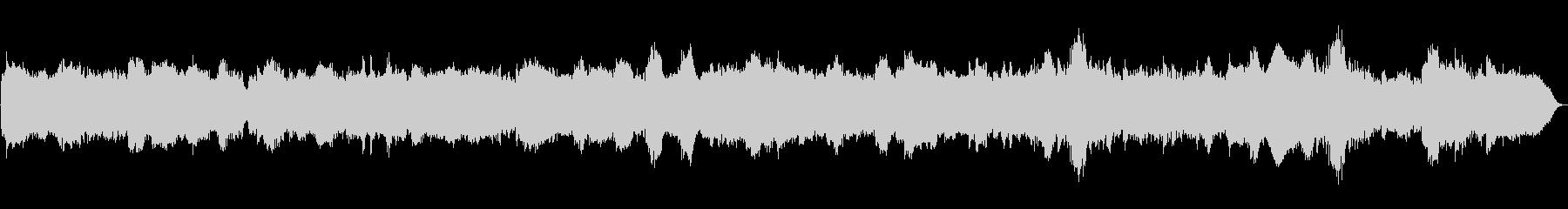 バロック調のクラリネットアンサンブルですの未再生の波形