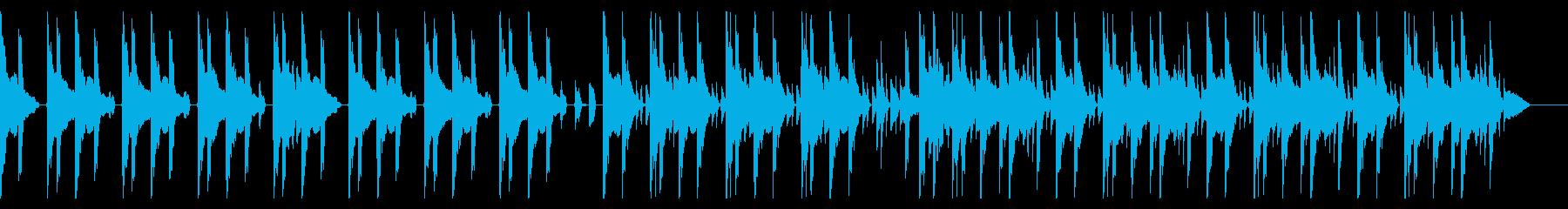 167 BPMの再生済みの波形