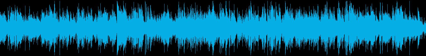大人なカフェラウンジ系ボサノバ※ループ版の再生済みの波形