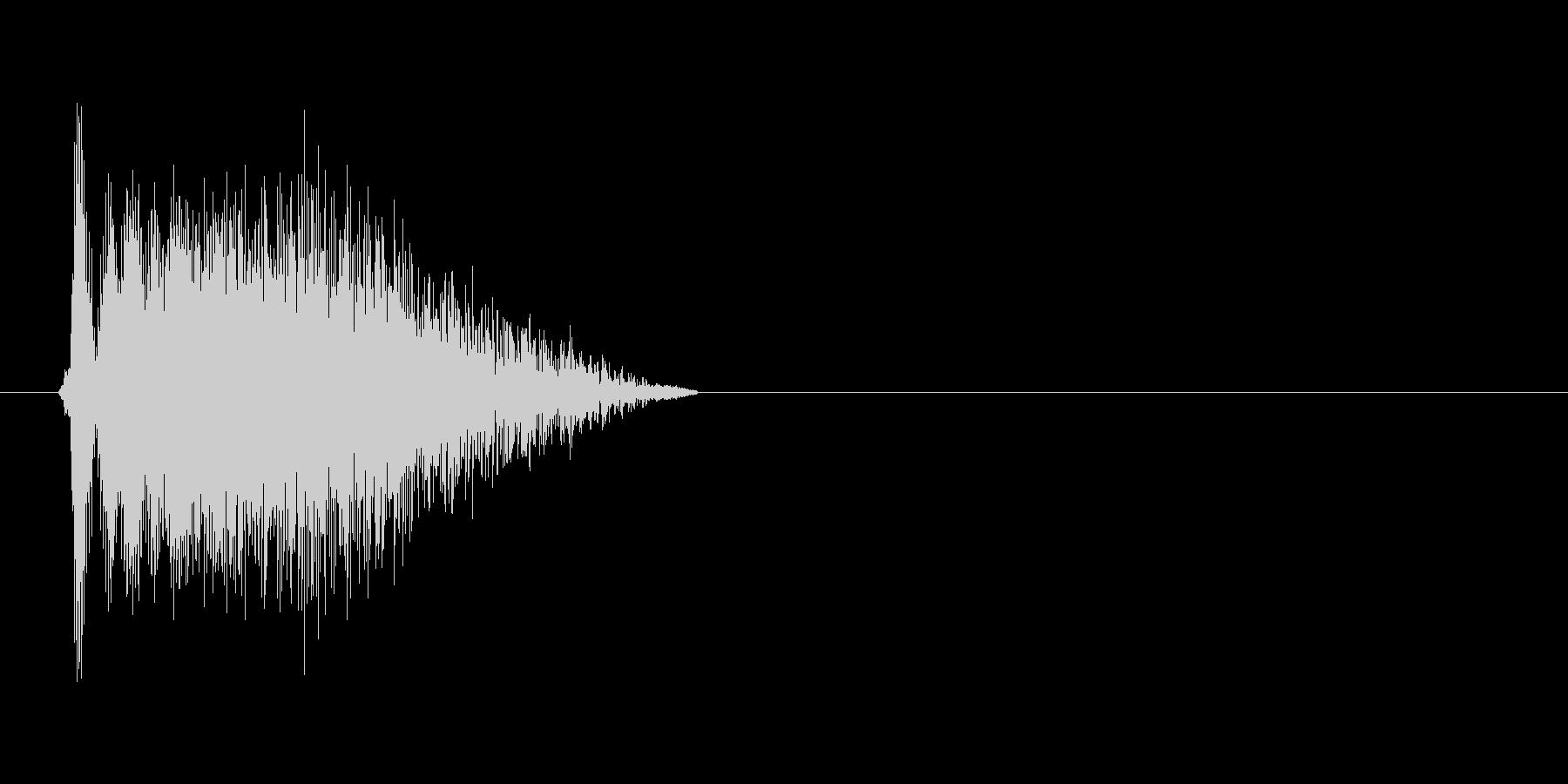 ビューン_ギャグの未再生の波形