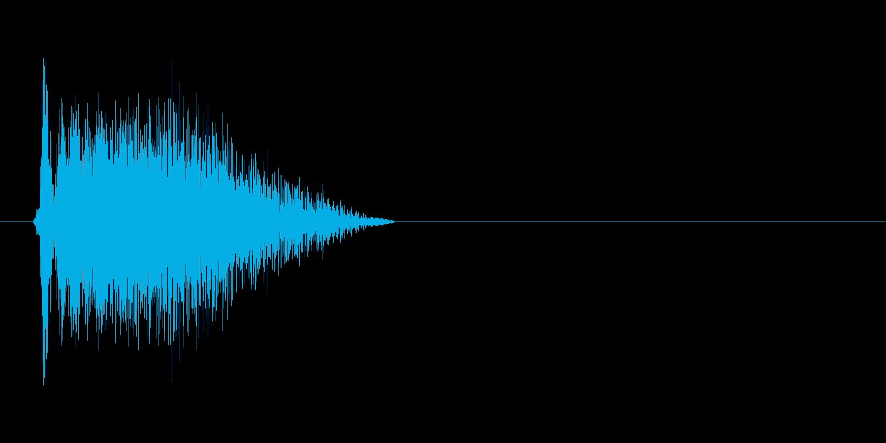 ビューン_ギャグの再生済みの波形