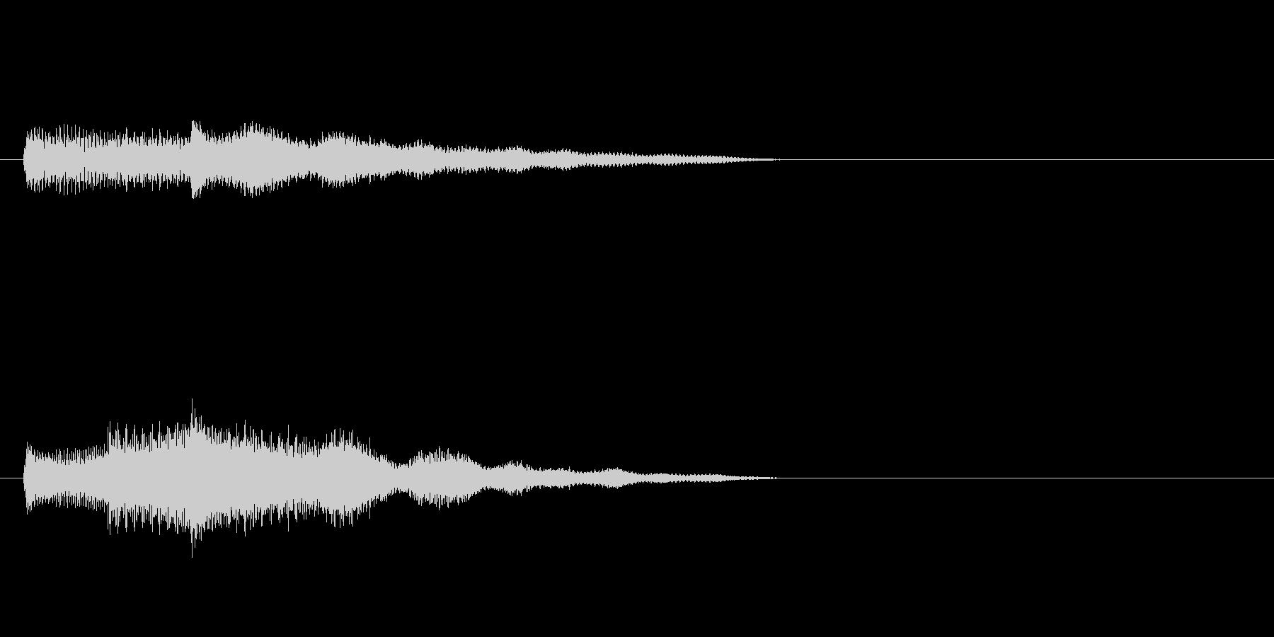 南国SE3 スタート音 豪華決定音の未再生の波形