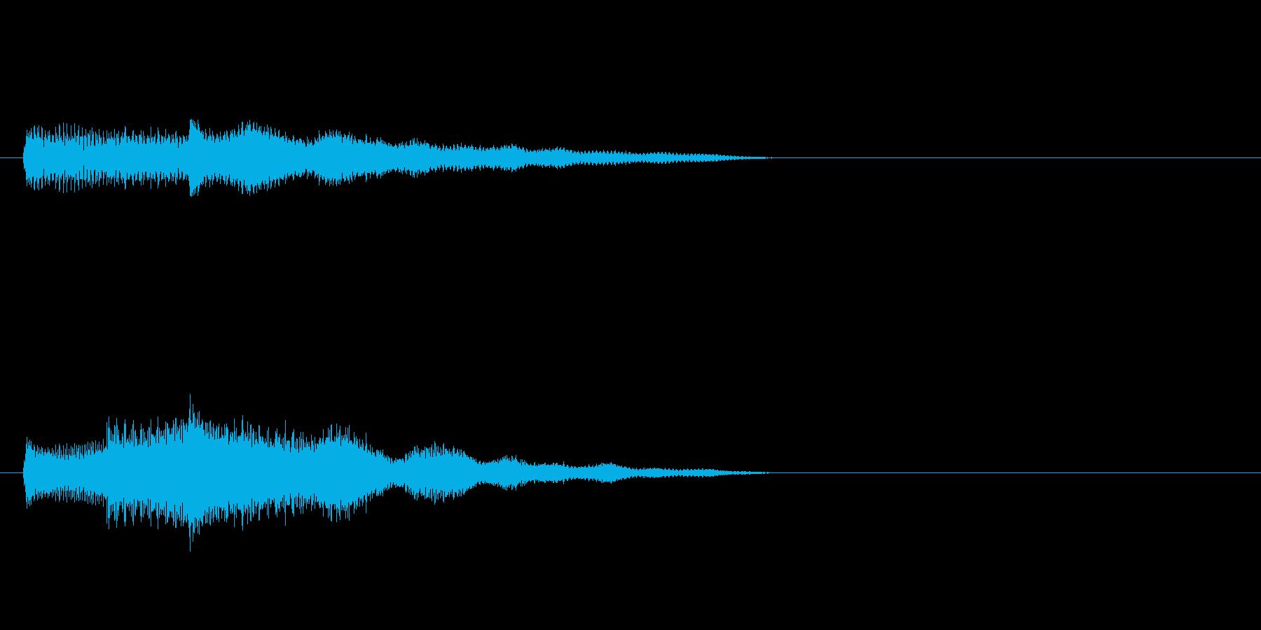 南国SE3 スタート音 豪華決定音の再生済みの波形