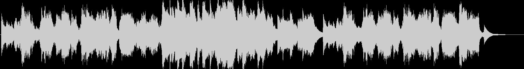 ピアノとフルート主体の優しいヒーリングbの未再生の波形