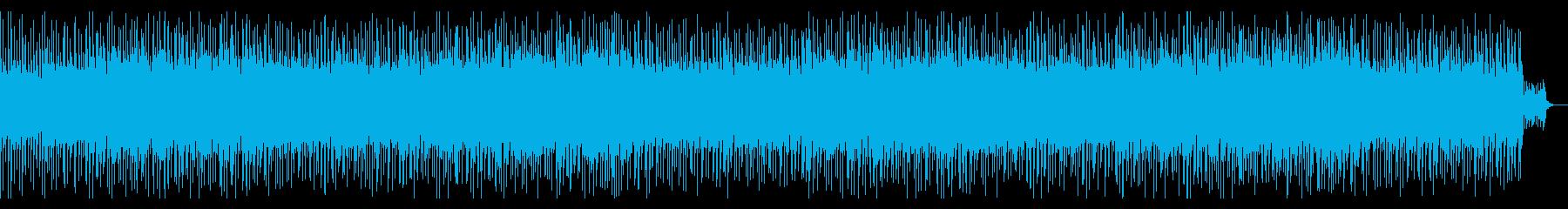 ピアノリフ爽やかアコギ夏っぽシンセギターの再生済みの波形