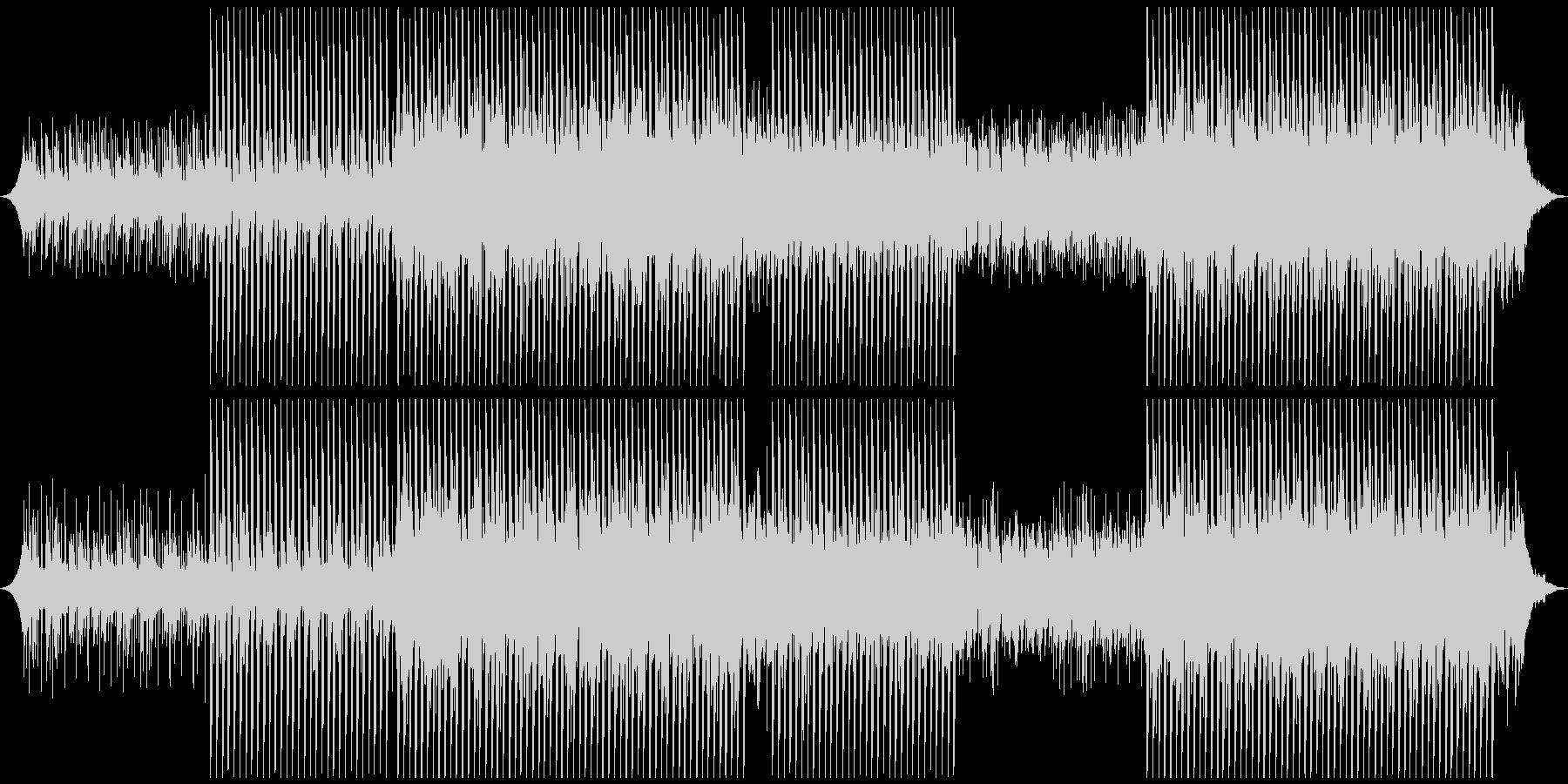 ハッピーコーポレートの未再生の波形