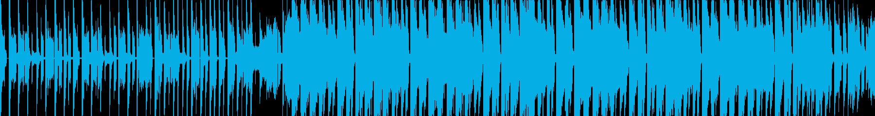 かわいいきゃっちーなテクノポップの再生済みの波形