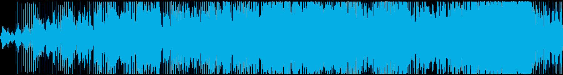 ひかりの螺旋の再生済みの波形