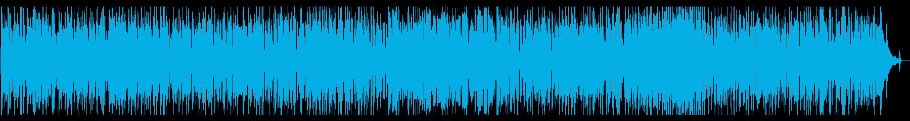 オシャレで落ち着いたジャズの再生済みの波形