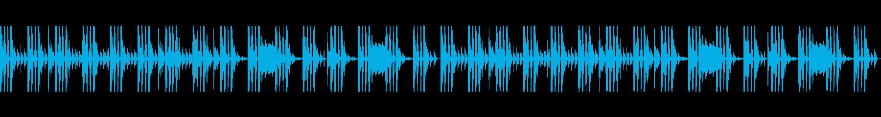【ループ可】Futurebassインストの再生済みの波形