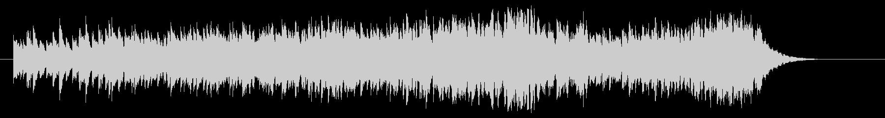 ジングルに最適なキラキラした効果音の未再生の波形