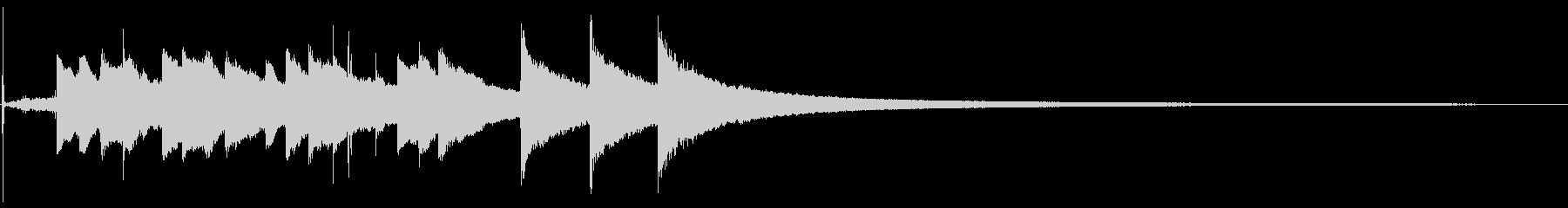 マントルチャイムクロック:大:スト...の未再生の波形