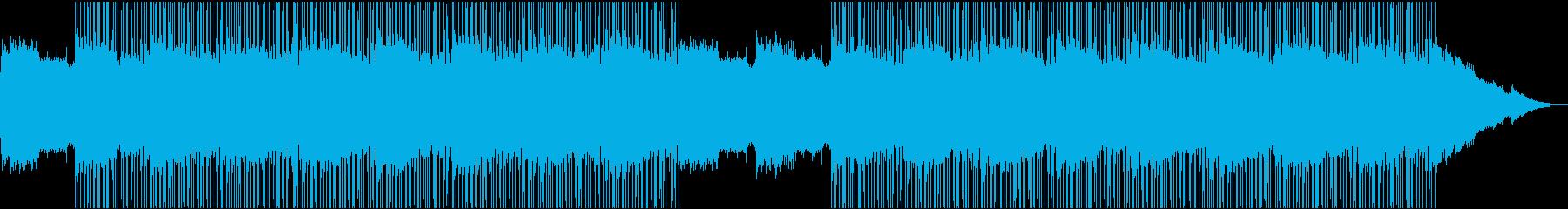 静寂 ボイス 真夜中のローファイの再生済みの波形