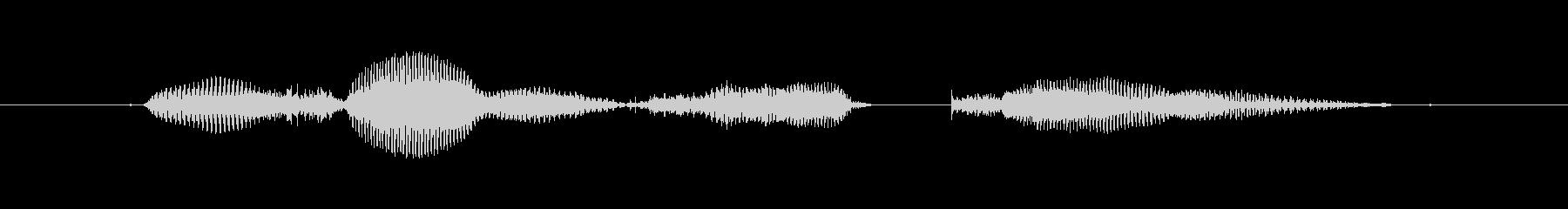 【西暦】2019年の未再生の波形