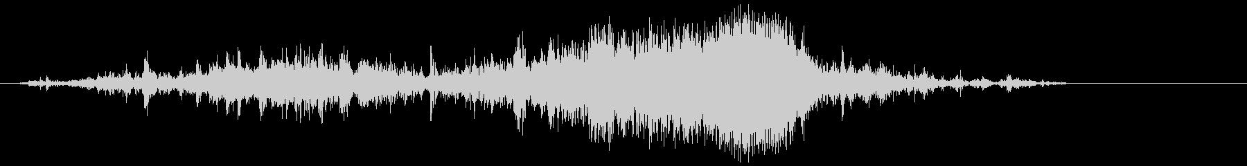 ビニール袋(ガシャ)の未再生の波形